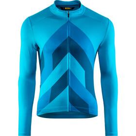 Mavic Cosmic Graphic Maglia jersey a maniche lunghe Uomo, fjord
